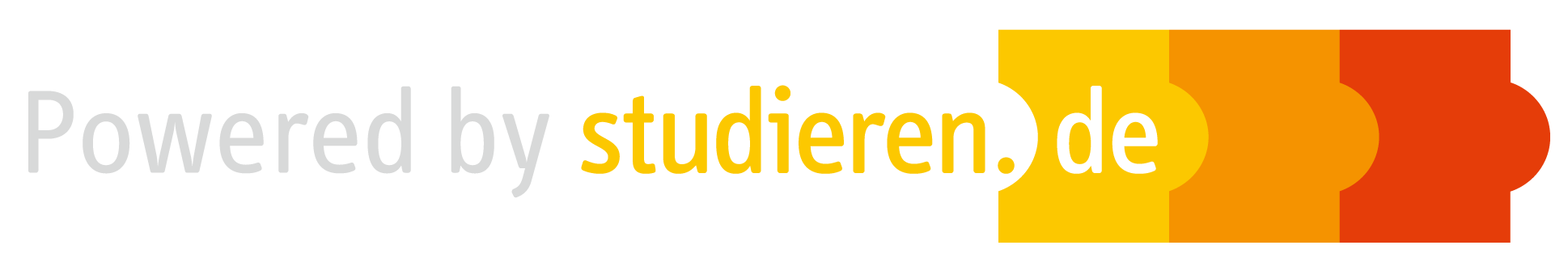 logo: powered by studieren.de